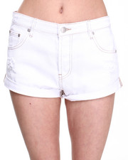 Women - Groupie Denim Shorts