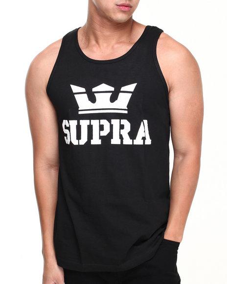 Supra Black,White Above Tank