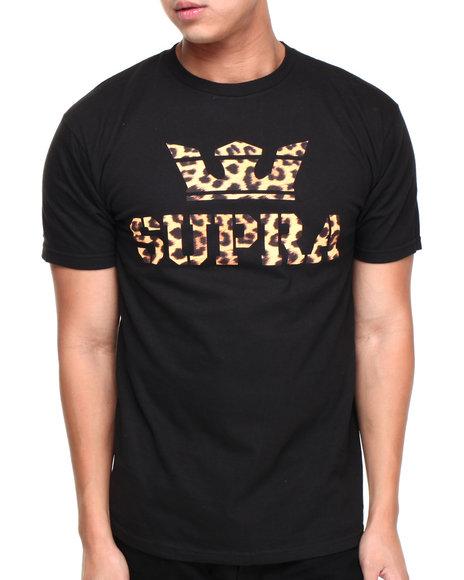 Supra Animal Print,Black Above Tee
