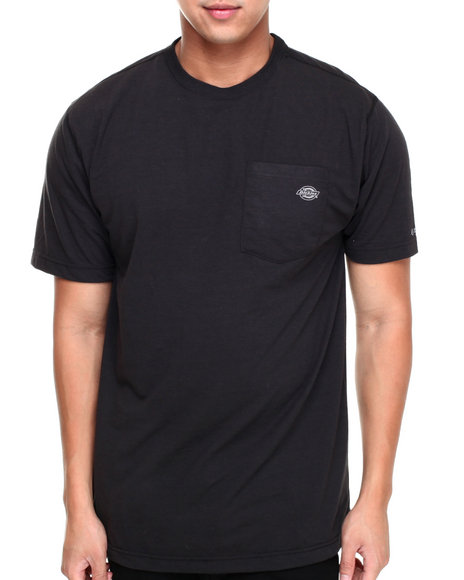 Dickies - Men Black Short Sleeve Drirelease Performance T-Shirt