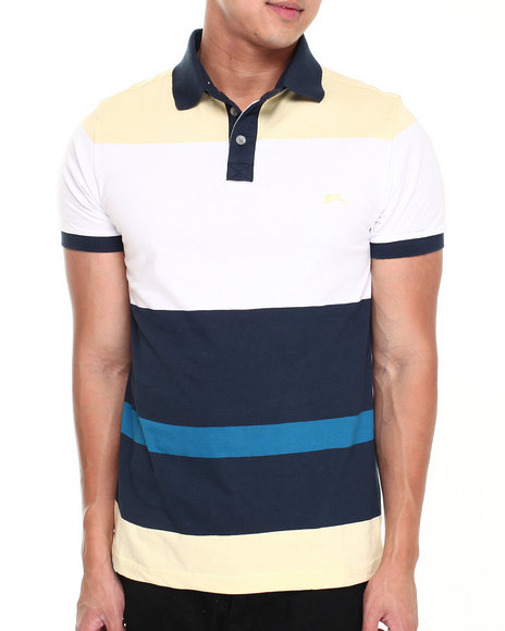 A Tiziano Yellow Remy Polo
