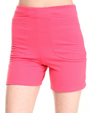 Fashion Lab - High Waist Textured Short