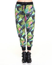 Women - Jungle Geo Print Jogger Pant