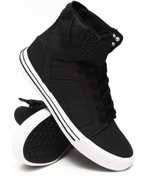 Supra - Men Black Skytop Sneakers