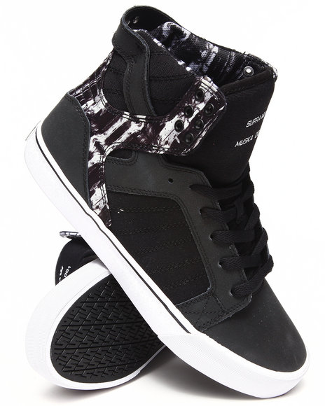 Supra - Men Black,Multi Skytop Sneakers