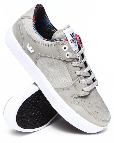Supra - Men Grey Vaider Lc Sneakers