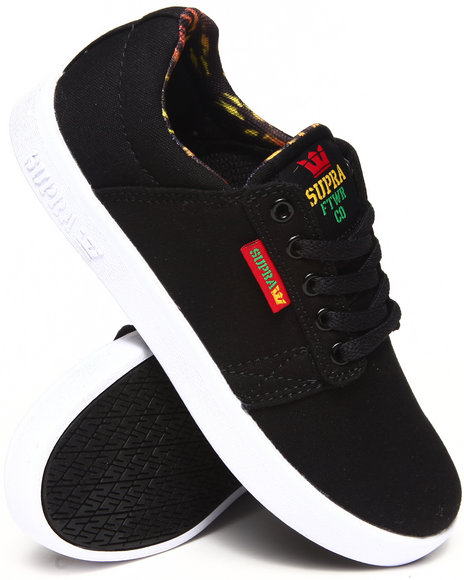 Supra - Boys Black Westway Sneakers (11-6)