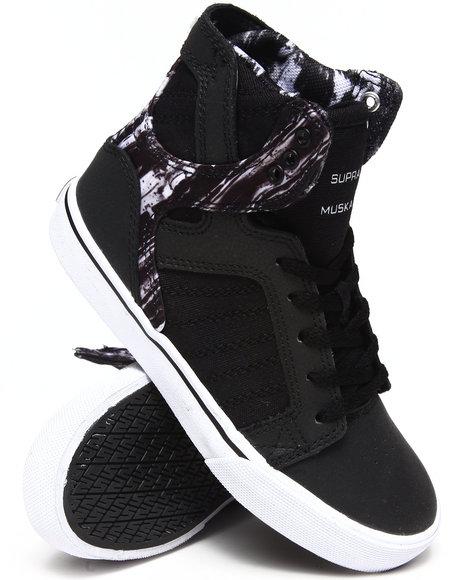 Supra Boys Black Skytop Sneakers (11-6)