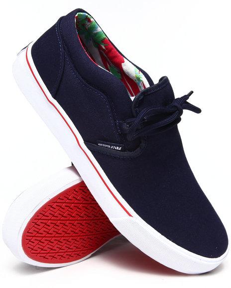 Supra - Men Navy Cuba Sneakers