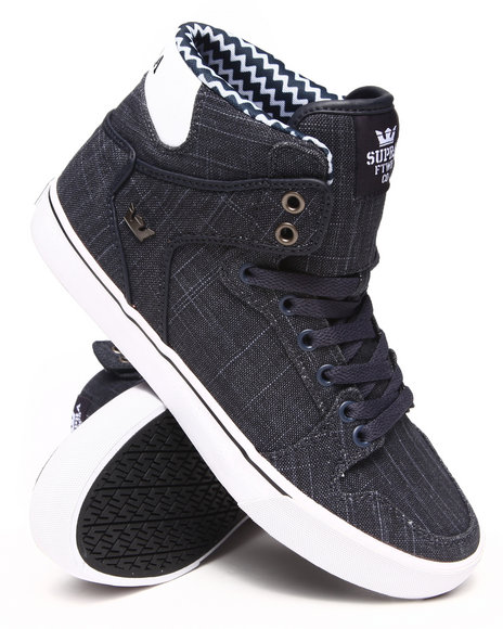 Supra - Men Blue Vaider Sneakers
