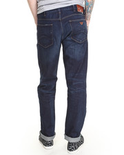 Denim - ANTI FIT COMFORT COTTON STRETCH - DARK VINTAGE FABRIC Jean