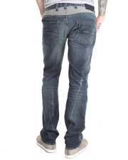 Straight - REG FIT COMFORT STRETCH MID-TONE VINTAGE Jean
