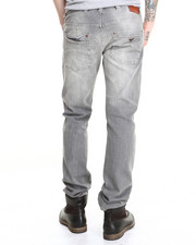 Denim - REG FIT COMFORT STRETCH MID-TONE STONE WASH Jean