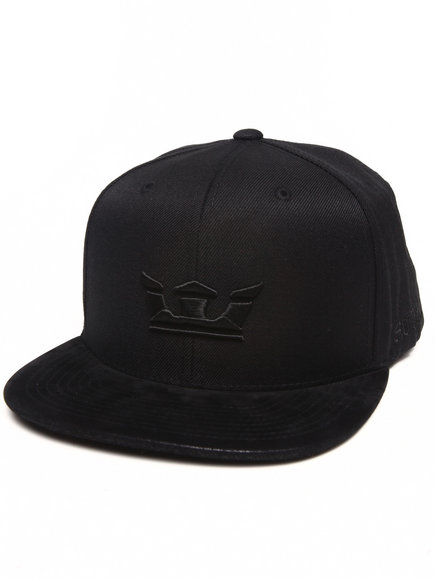 Supra Icon Starter Snapback Cap Black