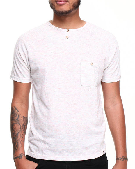 Bellfield - Men Off White,Multi Maude T-Shirt