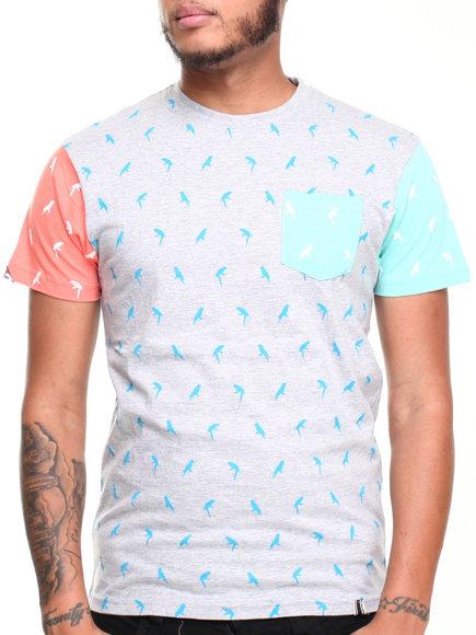 Bellfield - Men Grey Turbio T-Shirt