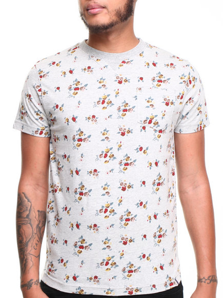 Bellfield - Men Grey Roawn T-Shirt