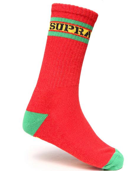Supra Men Mark Crew Socks Multi