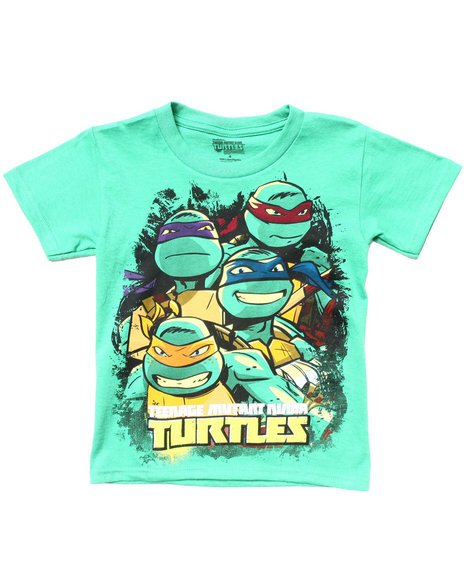 Arcade Styles - Boys Green Teenage Mutant Ninja Turtles Tee (4-7)