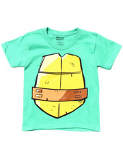 Tops - NINJA TURTLE SHELL TEE (4-7)