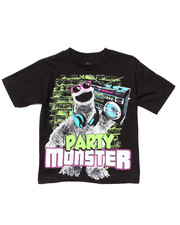 Tops - PARTY MONSTER TEE (4-7)