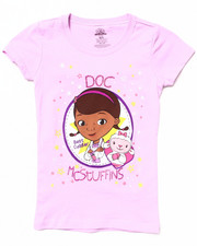 Girls - DOC MCSTUFFINS TEE (4-6X)