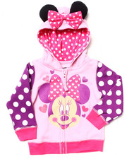 Girls - MINNIE HOODY (2T-4T)