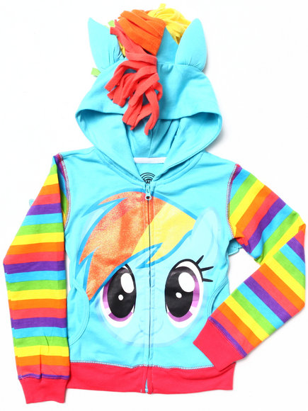 La Galleria Girls Blue My Little Pony Hoody (4-6X)