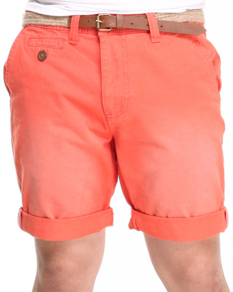 Bellfield - Men Orange Basic Chino Short