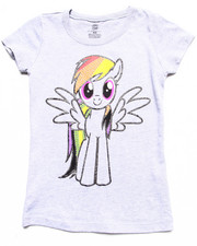 Girls - RAINBOW DASH TEE (4-6X)