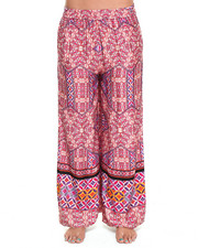 Women - Water Colour Tiles Palazzo Pants