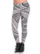 Women - Sammy Geometric Print Leggings