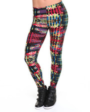Women - Andrea Paint Splash Print Leggings