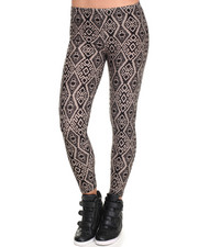 Leggings - Jordyn Diamond Soutwestern Print