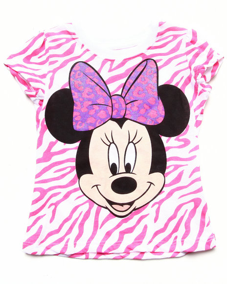 La Galleria Girls Pink Minnie Tee (2T-4T)