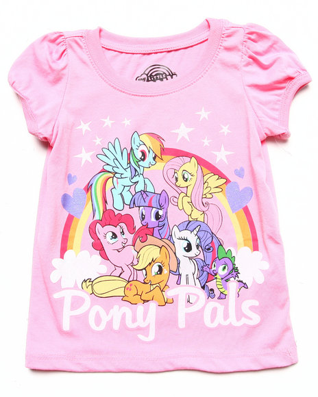La Galleria Girls Pink Pony Pals Tee (2T-4T)