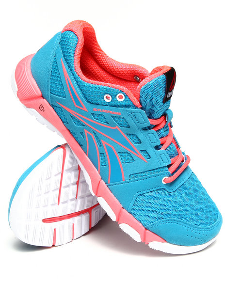 Reebok - Women Blue,Pink Reebok One Trainer 1.0 Sneakers