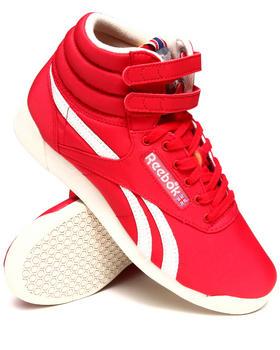 Reebok - Freestyle Hi Vintage Inspired Sneakers