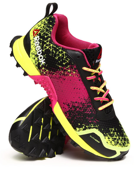 Reebok - Women Neon Green,Black Wild Extreme Sneakers