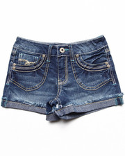 La Galleria - Patch Pocket Cuffed Shorts (7-16)