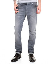 Denim - Thin Finn Organic Stone Black Jeans