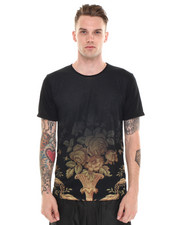 Short-Sleeve - GRADIENT GOLDEN ROSE TEE