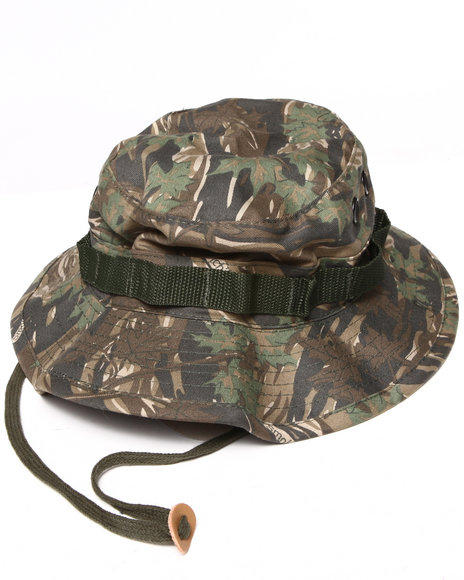 Men Camo Smokey Branch Bucket Hat