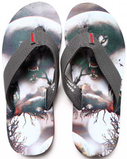 Sandals - Moon Wolf Sublimation Flip-Flop