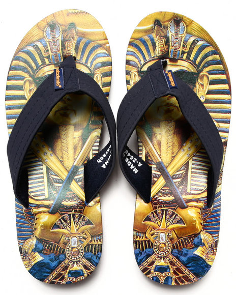 Akademiks Multi Pharaoh Sublimation Flip-Flop