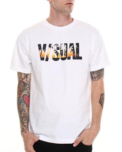 Visual by Van Styles White Visual By Van Styles Bliss Tee