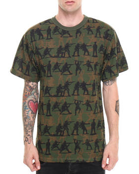 DRJ Army/Navy Shop - Vintage Camouflage Soldier S/S Tee