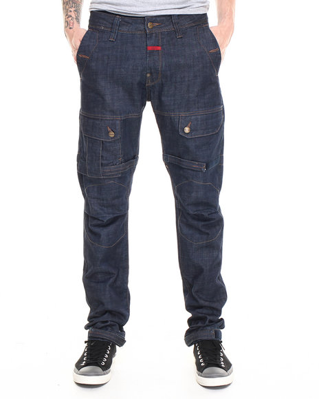 Girbaud - Men Dark Wash Shuttle Denim Jean