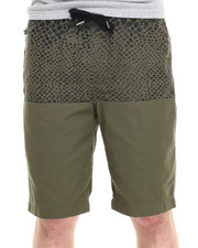 Men - Director's Cut Faux Snake Print Drawstring Shorts
