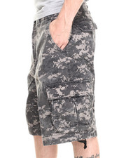DRJ Army/Navy Shop - Digital Camo Vintage Infantry Utility Shorts